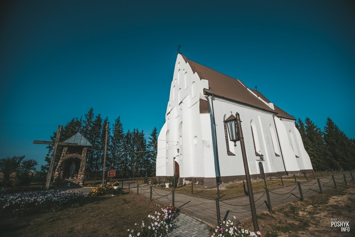Костелы Беларуси Ишкольдь
