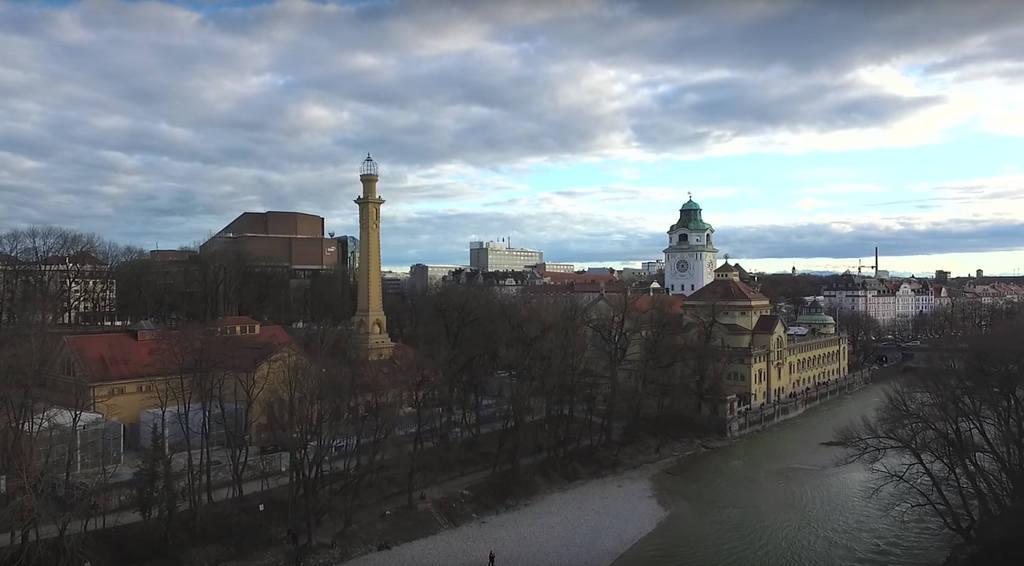 Мюнхен - река Извар