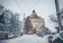 Костел Вознесения Девы Марии в агрогородке Зембин
