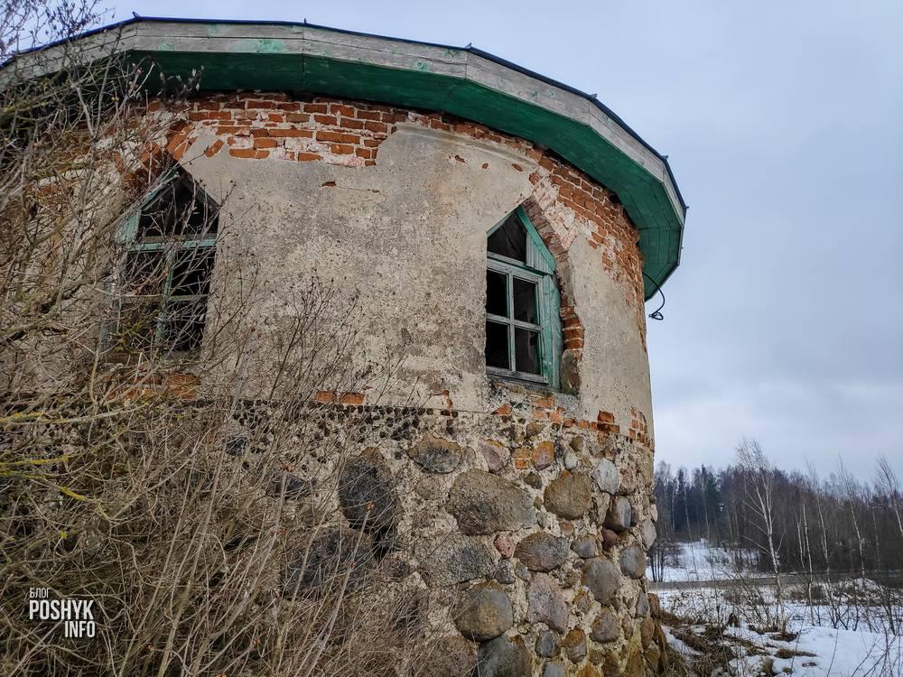 Новая Рудица часовня усыпальница Дыбовских