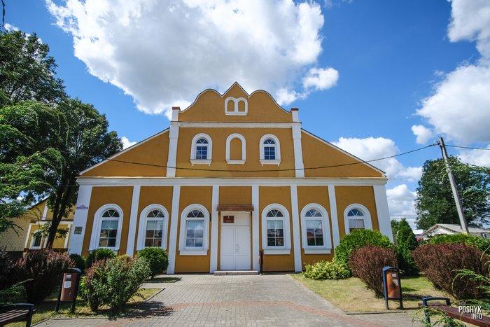 Ивье синагога Беларусь