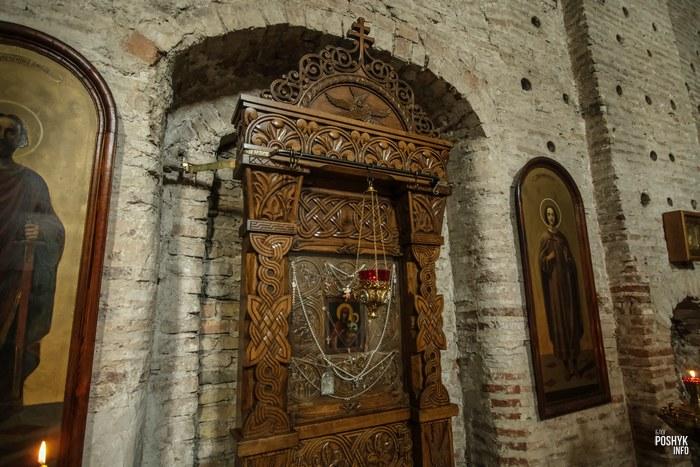 Убранство Борисоглебской церкви в Гродно