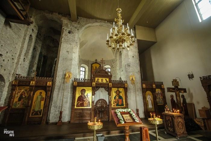 Алтарь коложская церковь в Гродно