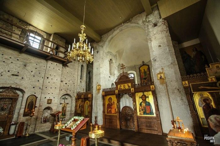 Борисоглебская церковь внутри