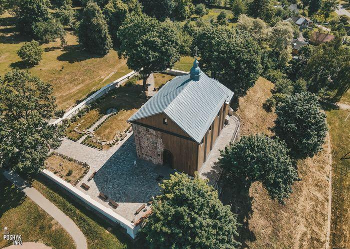 Борисоглебская церковь в Гродно 12 века
