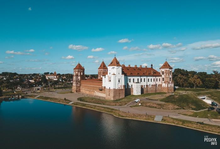 Достопримечательности в Беларуси - Мирский замок