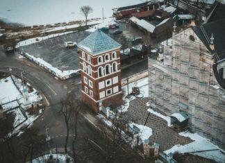 Замковая или Городская башня в Несвиже