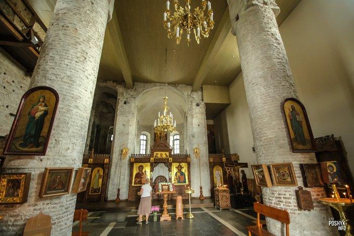 Как выглядит коложская церковь внутри