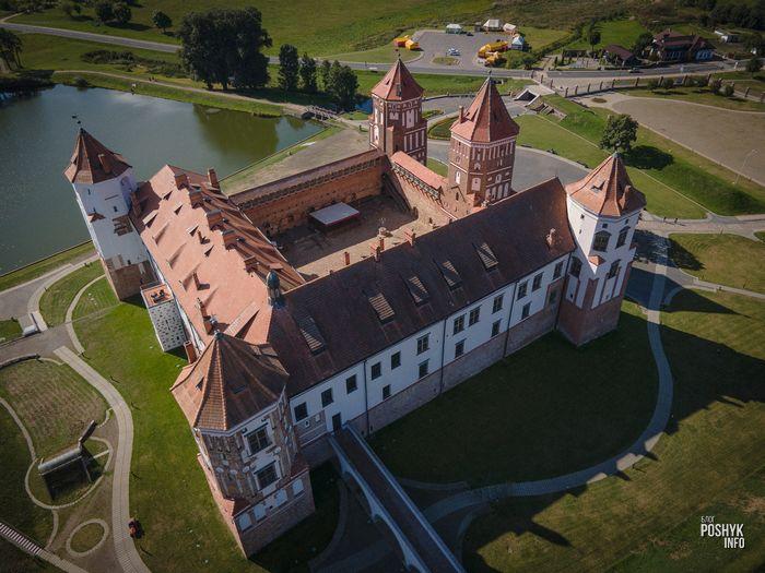 Мирский замок как добраться из Минска