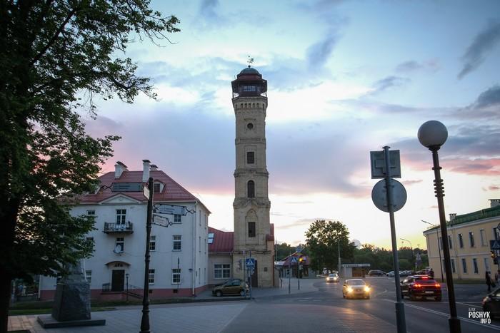 Пожарная каланча и башня в Гродно