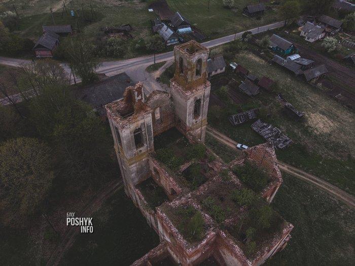 Развалины костела Святой Вероники