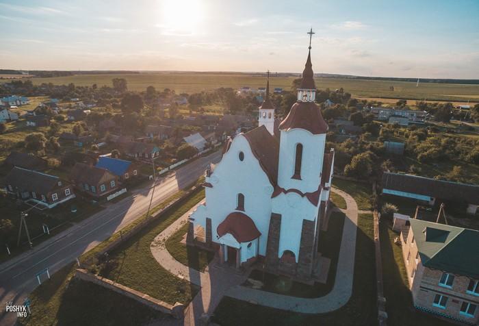 Костел в Солах