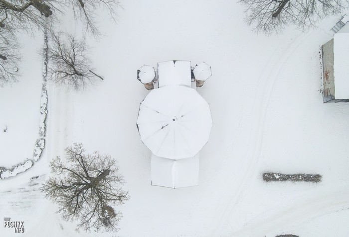 Кальвинский сбор фото с воздуха