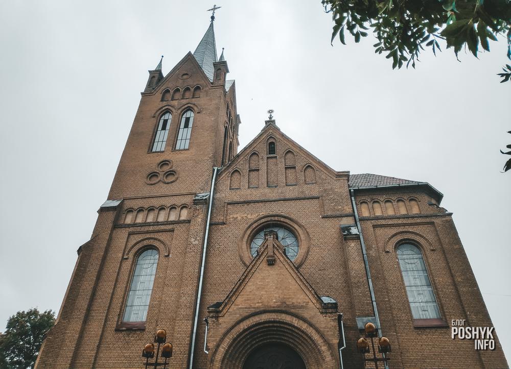 Костел в Вилейке