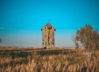 Заброшенная ветряная мельница