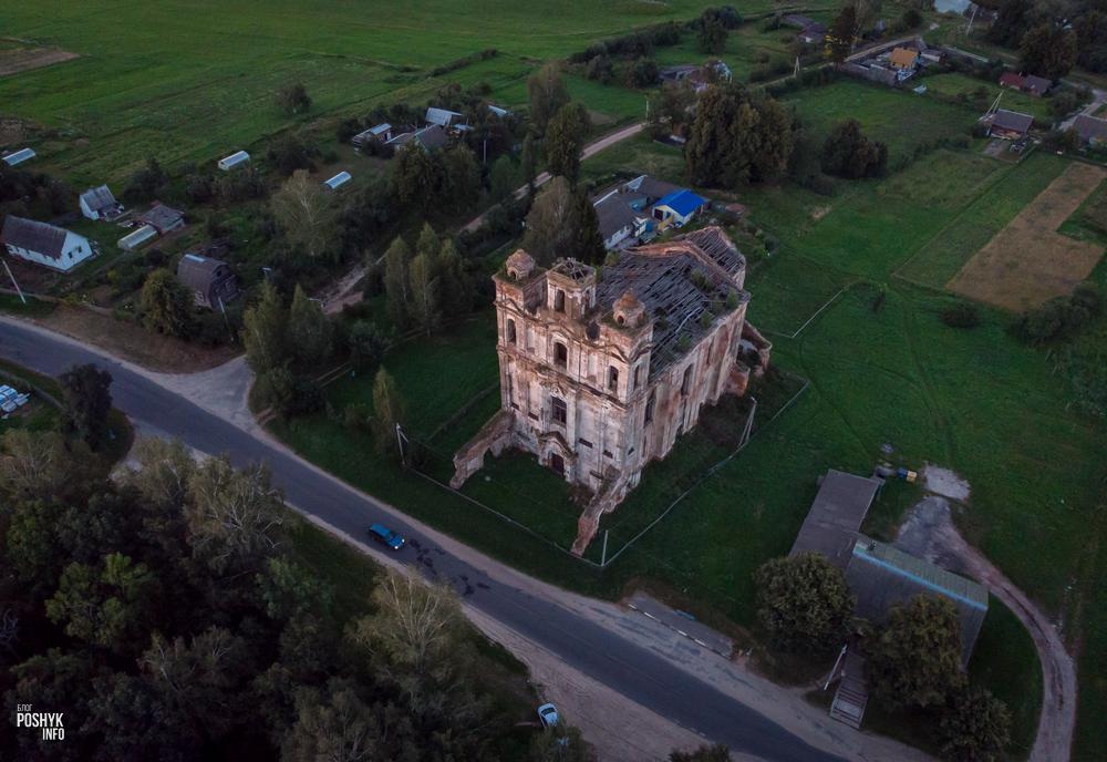 Княжицы руины костела святого Николая