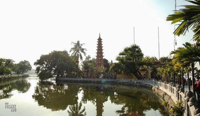 пагода чанкуок ханой вьетнам