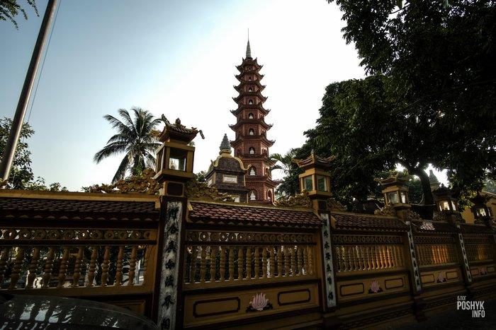 пагода чанкуок вьетнам