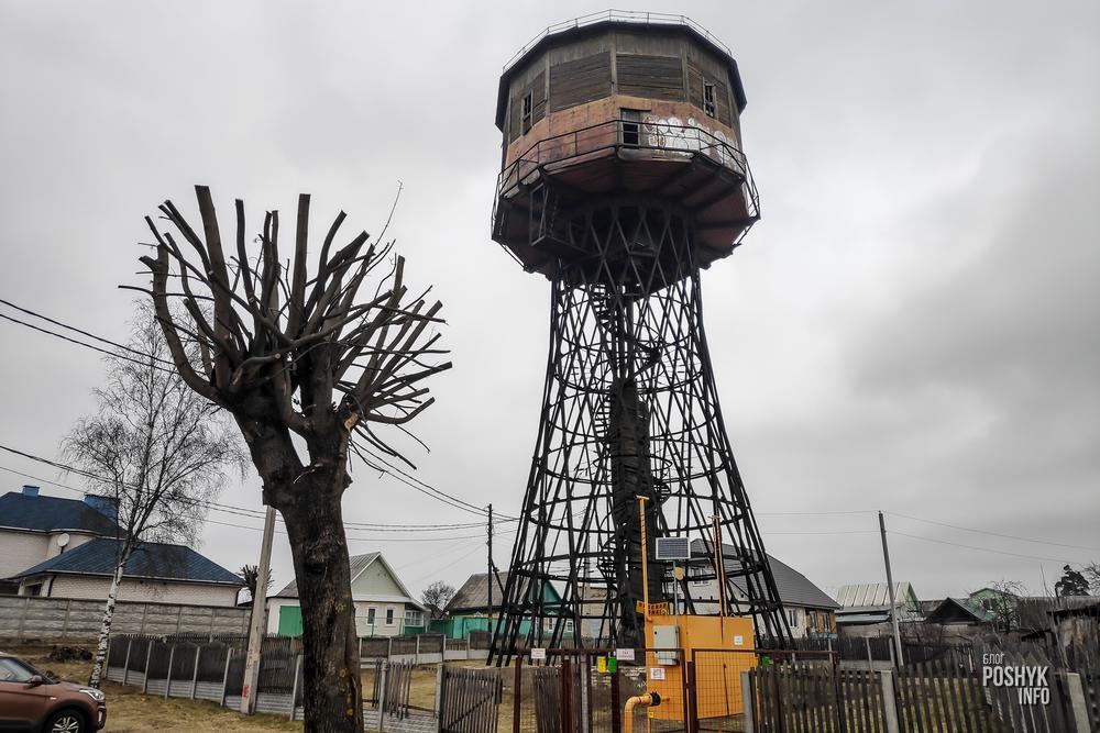 водонапорная башня борисов