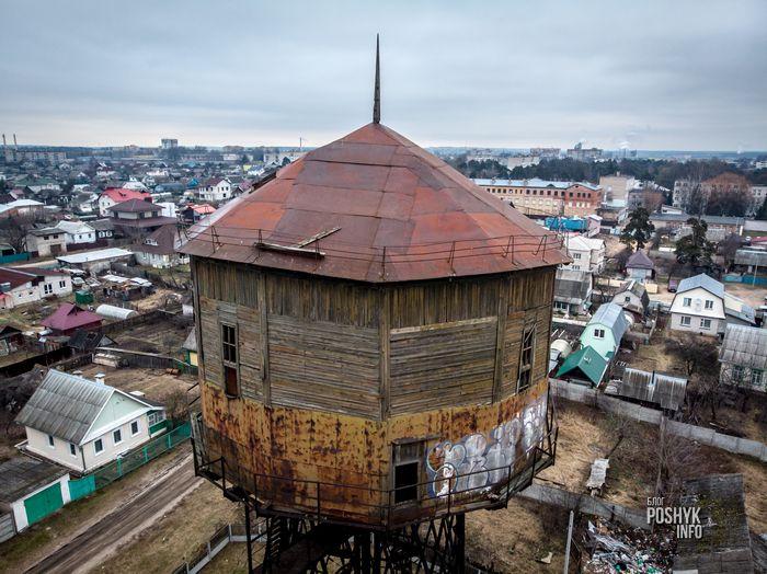 водонапорная башня в городе Борисов