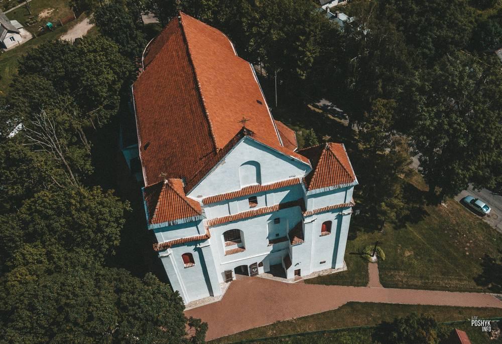 Фарный костел в городе Новогрудок