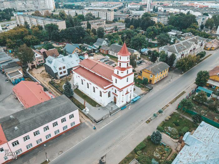 Костел в городе Борисов