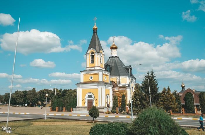 Православная церковь в городе Речица