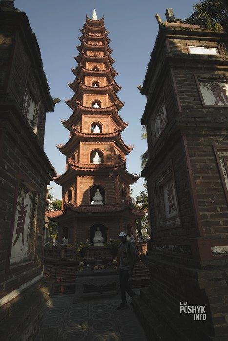 11 ярусная башня пагода ханой