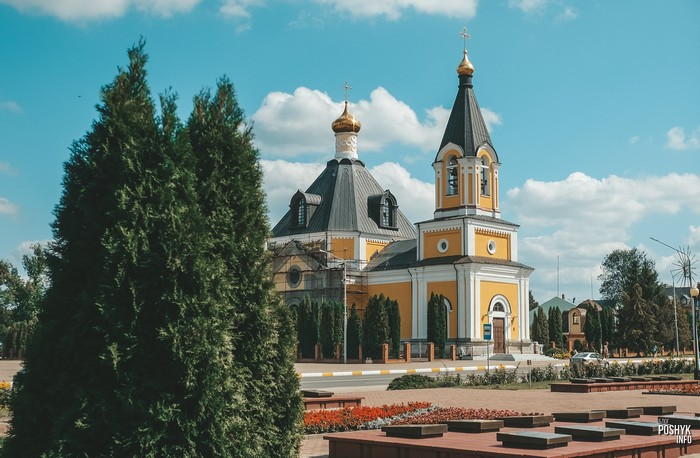 Успенская церковь в Речице