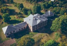 Усадьба Радзивиллов в деревне Полонечка