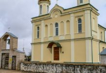 Вишневец церковь