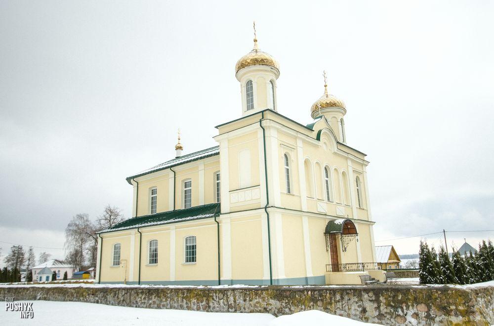 Церковь святого Иоанна Предтечи в агрогородке Вишневец