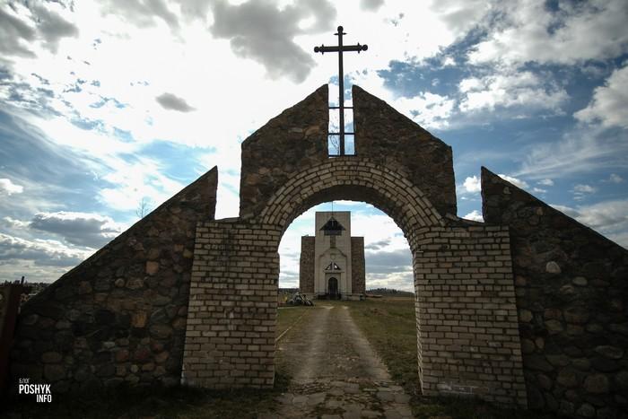 Кладбище в Дворище
