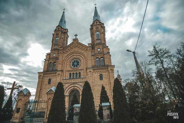 Костел в Белогруде