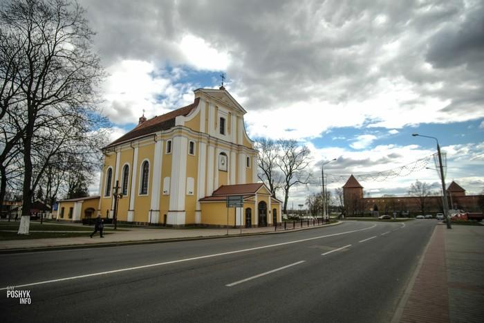 Костел в Лиде