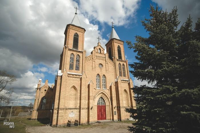 Костел в Трабах