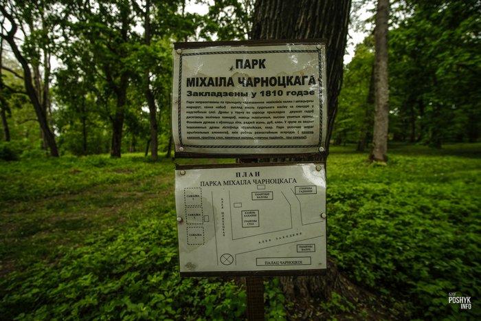 Парк в имение Нача