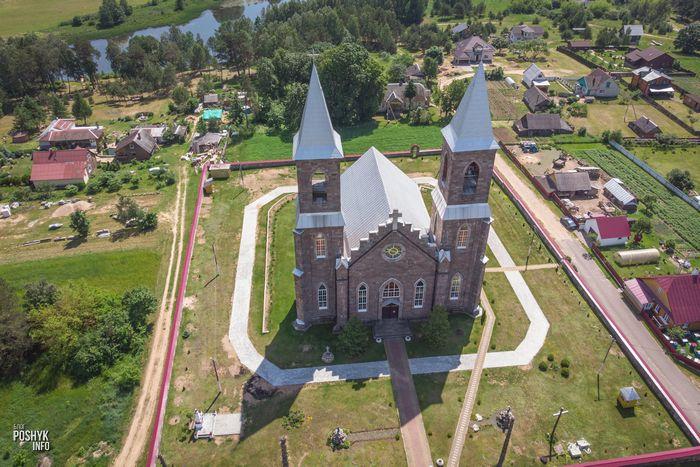 Храм в деревне Рубежевичи