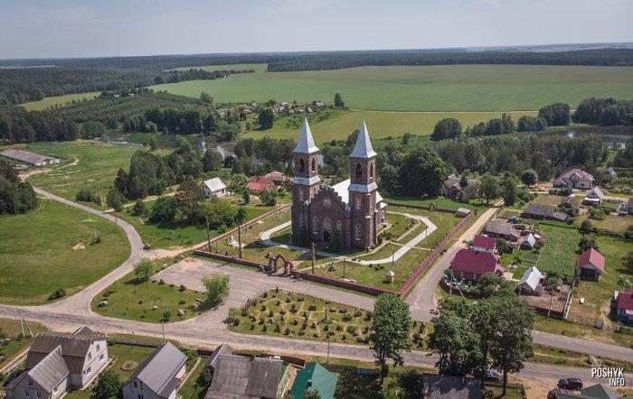 Костел в Рубежевичах