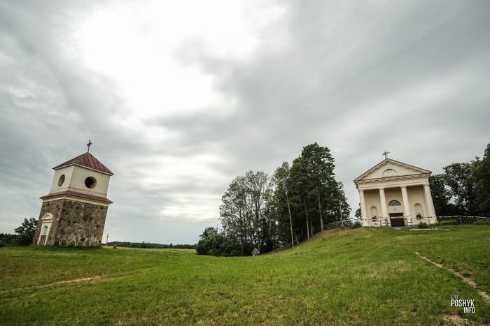 Башня в деревни Вишнево