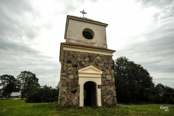 Башня колокольня в Вишнево
