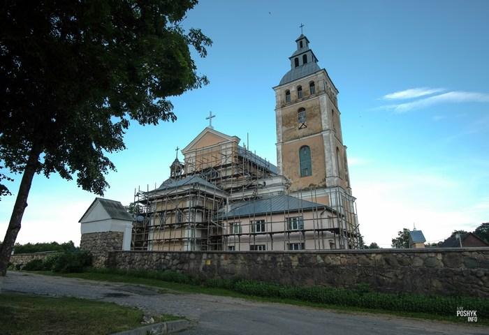 Костел Свирь Беларусь