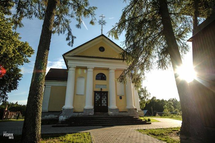Костел в Шеметово