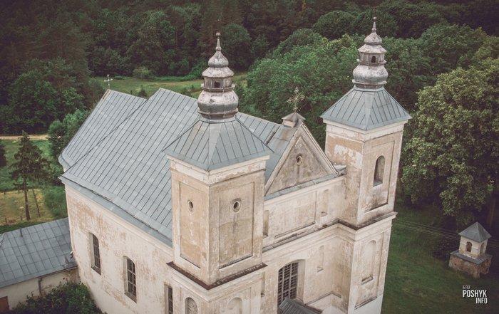 Костел в стиле Барокко Беларусь