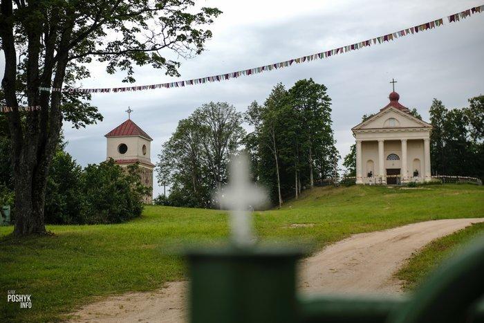 Костел в Вишнево