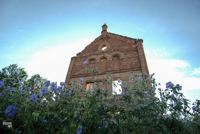 Руины винокурни в Шеметово