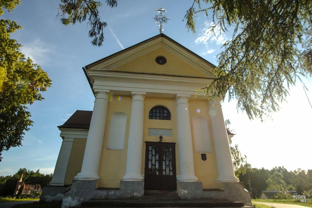 Костел Божьей Матери в Шеметово