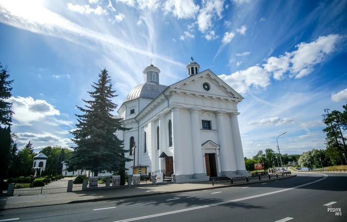 Щучинский костел в Беларуси