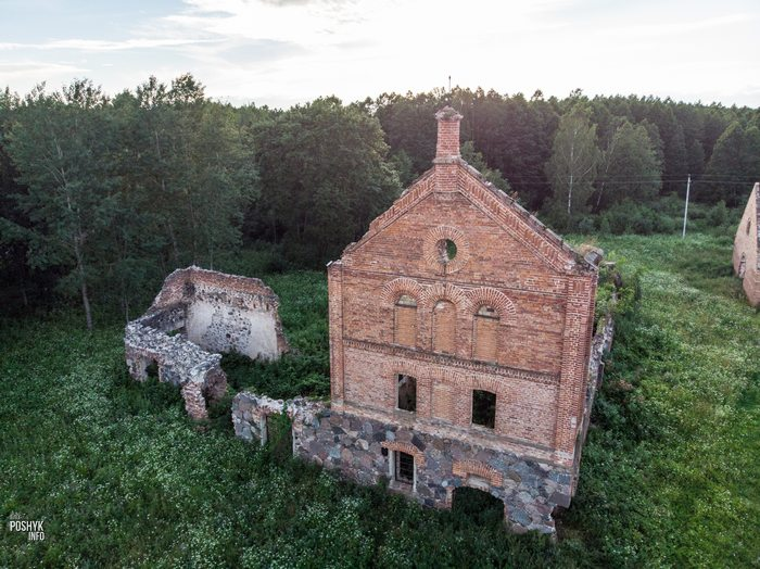 Заброшенные места Беларуси Шеметово