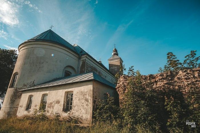 Засвирский костел в Беларуси